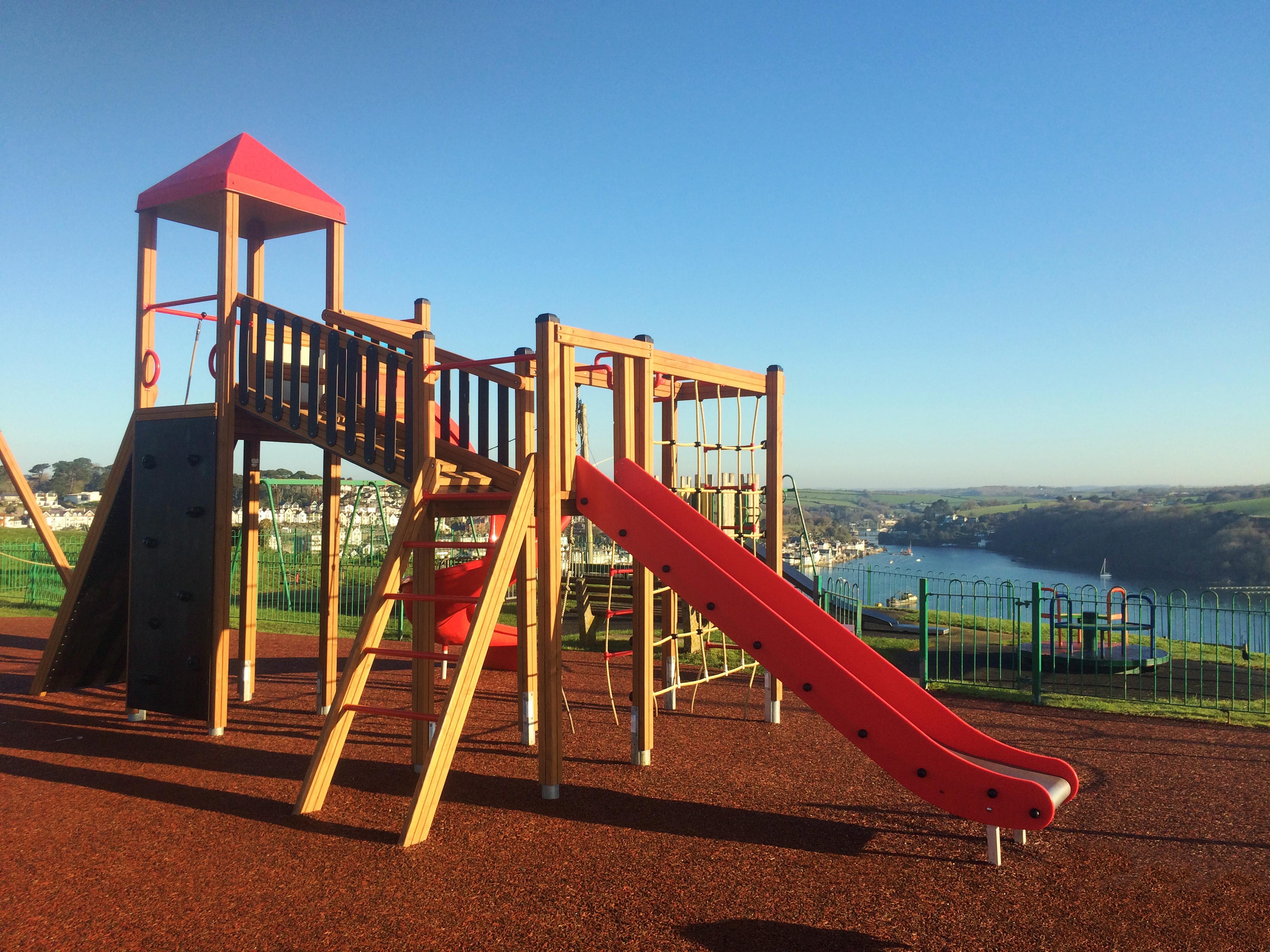 Lars Laj Playground in Polruan UK